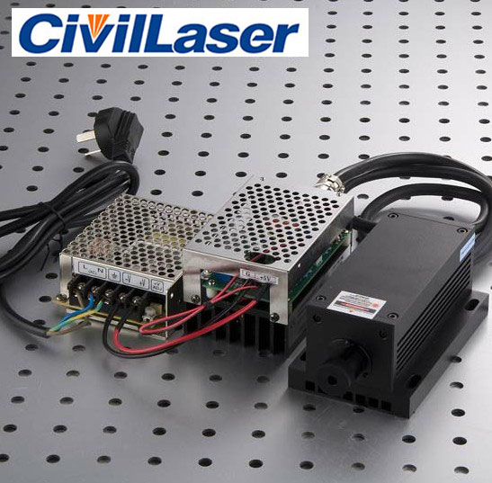 1064nm 2000mw~4000mw IR DPSS Laser Invisible laser source with power supply