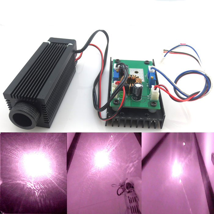 1064nmm 1w 2w 3w Powerful Invisible Laser Diode Module With Cooling Fan
