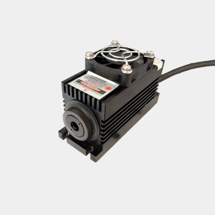 1064nm 1~200mW Passively Q-Switched Pulse Laser Adjustable Repetition Frequency Solid State Laser Small Type