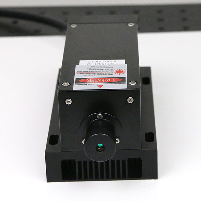 1064nm IR Passively Q-Switched Pulsed Laser Solid State Laser Adjustable Power Supply