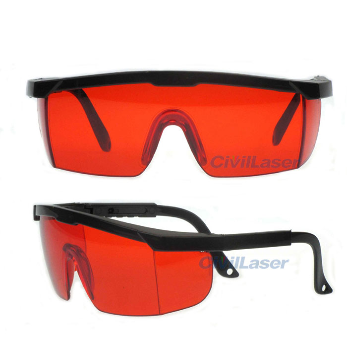 Multi Wavelength 190nm-550nm Blue/Green Laser Goggles