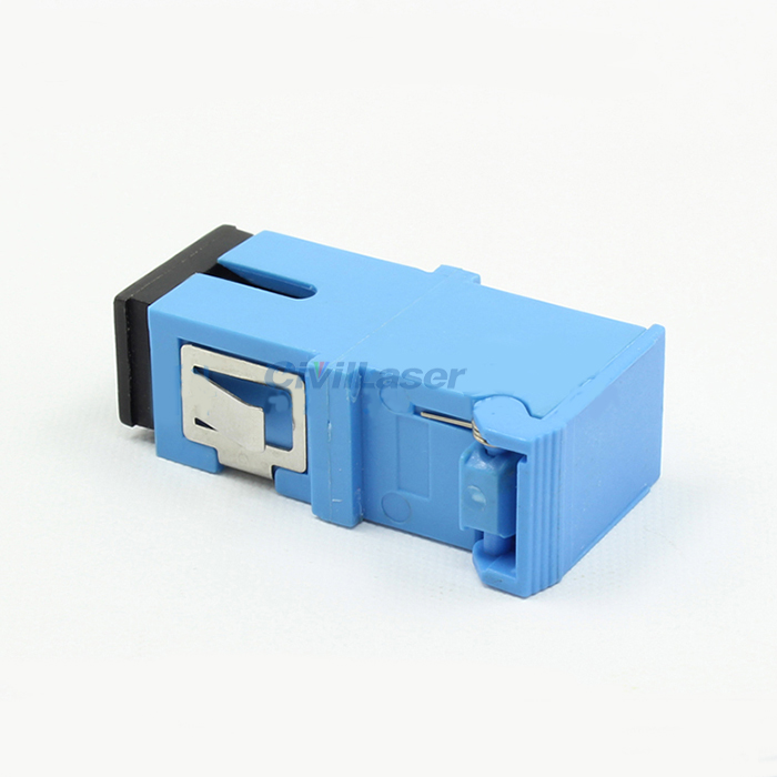 Side Flip Fiber Coupler Singal Mode Singal Core Fiber Optic Adapter