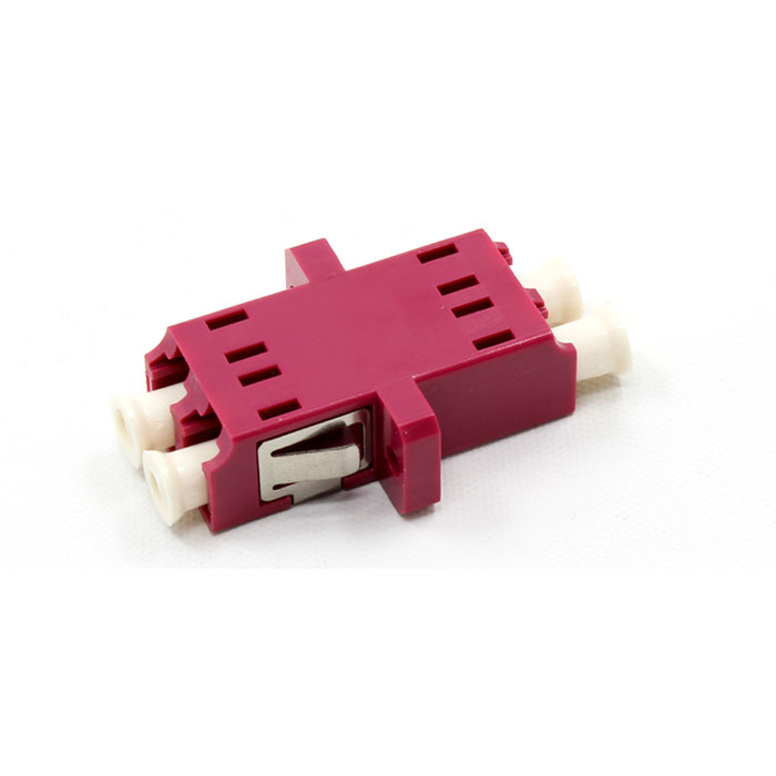 Integrated Type Multimode Double Core Plastic Fiber Optic Adapter