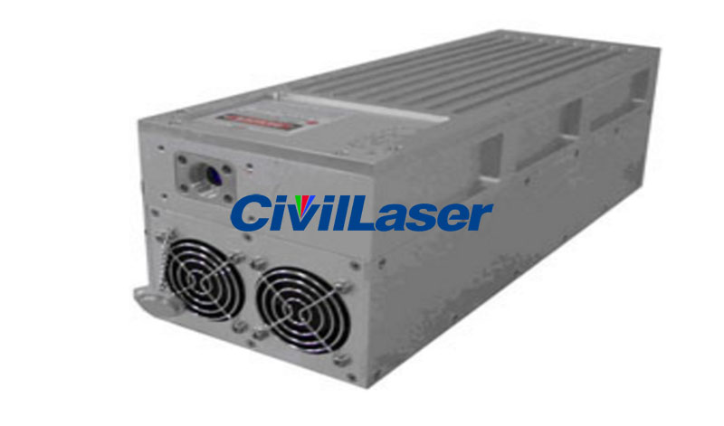 355nm Actively AOM Q-switched UV laser 1-3000mW