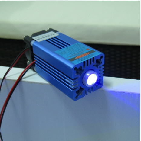 High power 1.5W~2W 445nm Blue Laser Module Osram with TTL modulation
