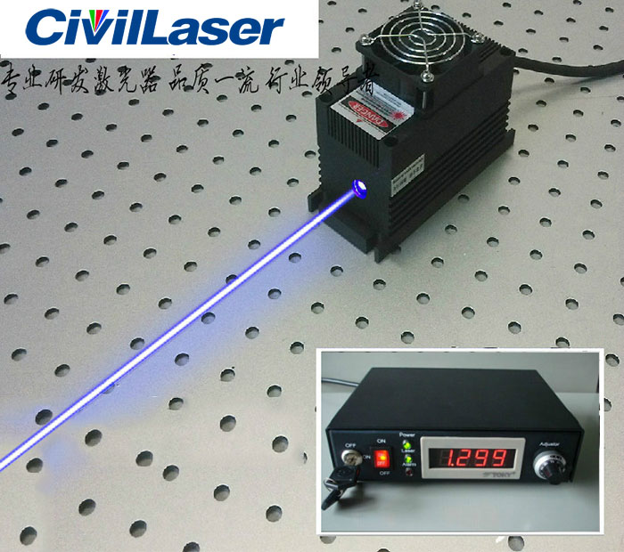 445nm/450nm/455nm 15W blue high power laser with power supply