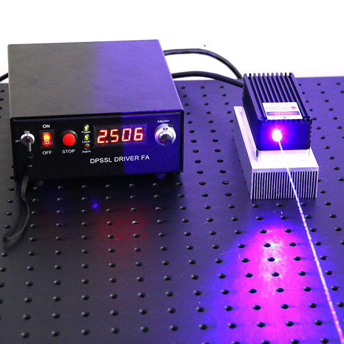 450nm 30W~50W High Power Blue Semiconductor Laser Strong Laser Beam