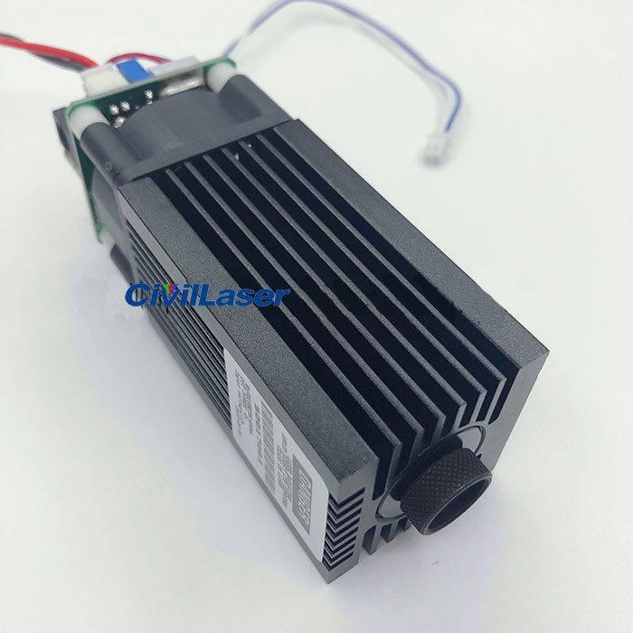 Laser Marking Machine 450nm 6W Laser Module With TTL Modulation
