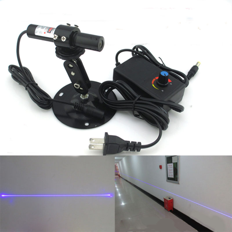 450nm 100mw Uniform line blue laser module with Powell lens