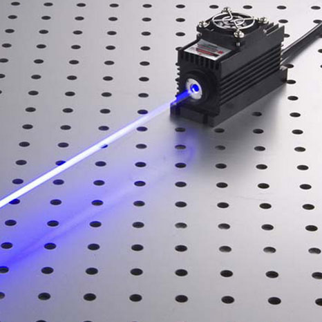 473nm 20mW~200mW Blue DPSS Laser with Power Supply