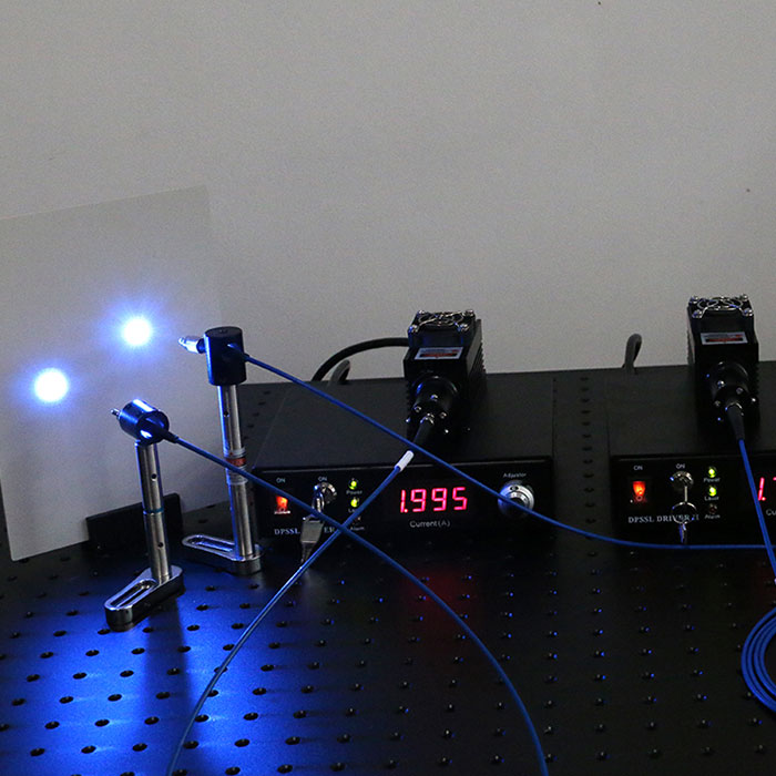 473nm 10mW~200mW blue fiber laser with power supply Support customized
