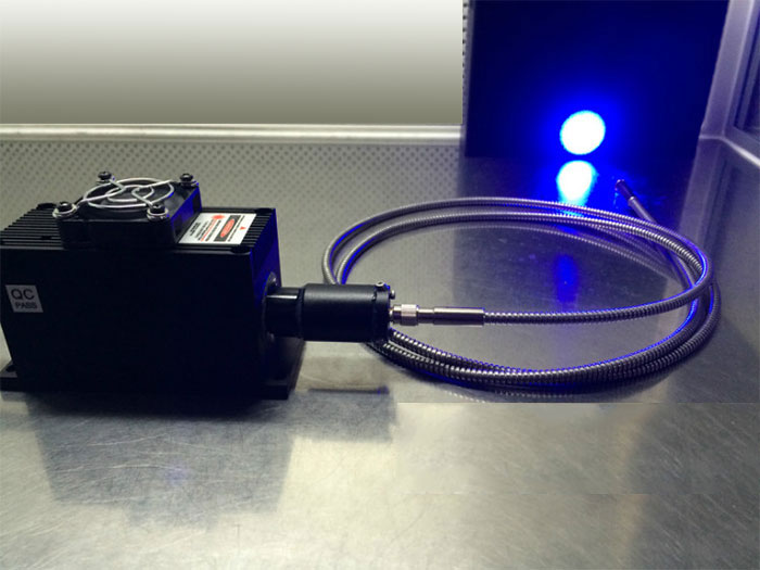 473nm 10mw~600mw blue fiber laser with power supply Support customized