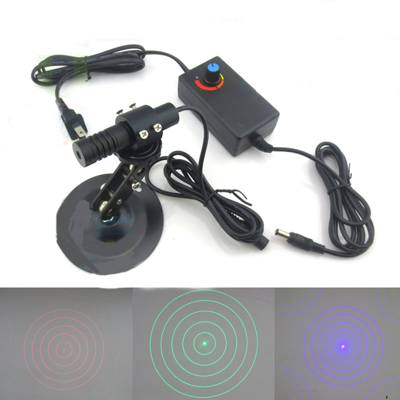 Ultra high brightness 5 concentric circles effect red/green/blue laser Focusing laser positioning instrument