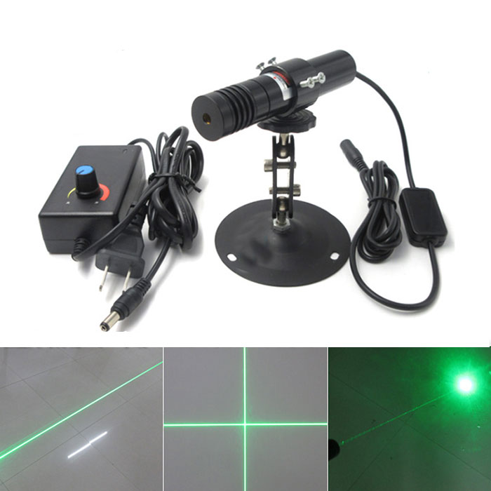 520nm 1200mW High Power Green Laser Dot Line Cross Laser Diode Module