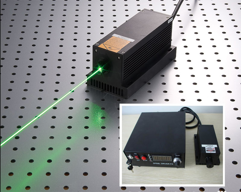 CivilLaser semiconducting laser 520nm 8000mW high power Green laser