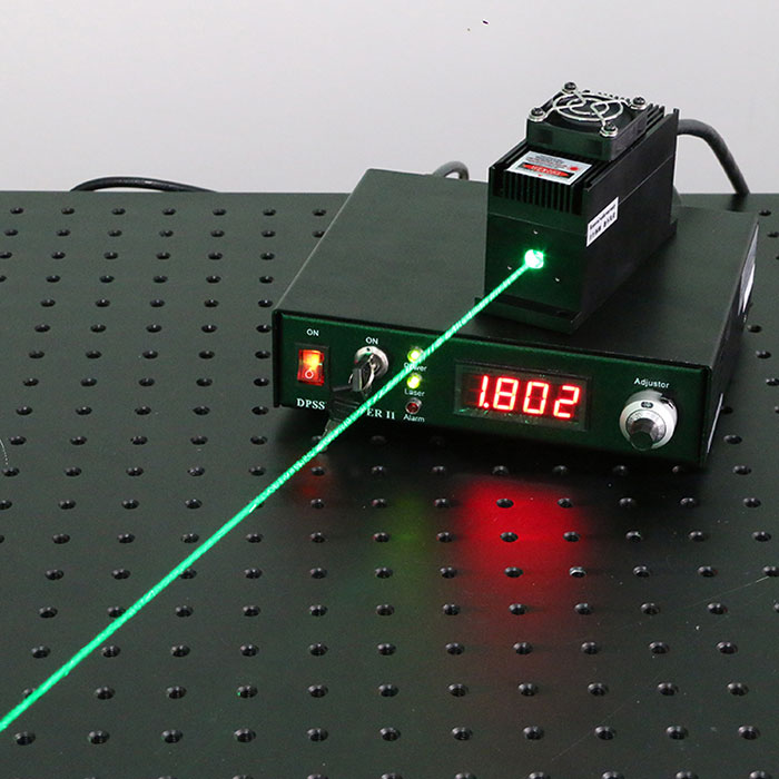 527nm 530nm 1000mW Green Laser Lab Research Laser System Can be Customzied