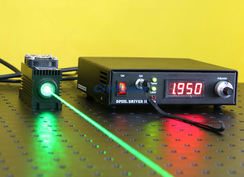 532nm 400mw~500mw green dpss laser green pumped laser solid state laser