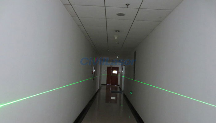 532nm 30mw Green Laser Module Line Line Positioning Lamp
