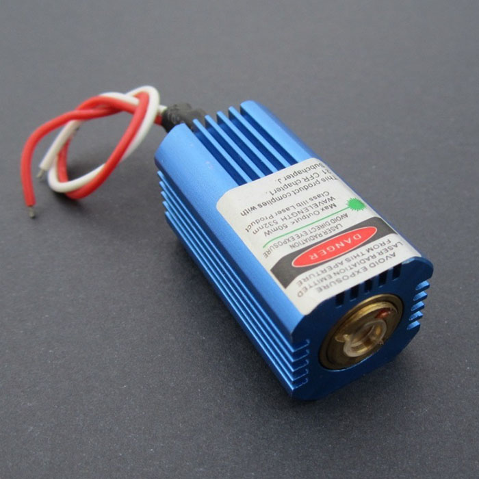 532nm 50mW Green Laser Module Dot 3-5V