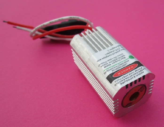 532nm 50mw Green Laser Dot 12V