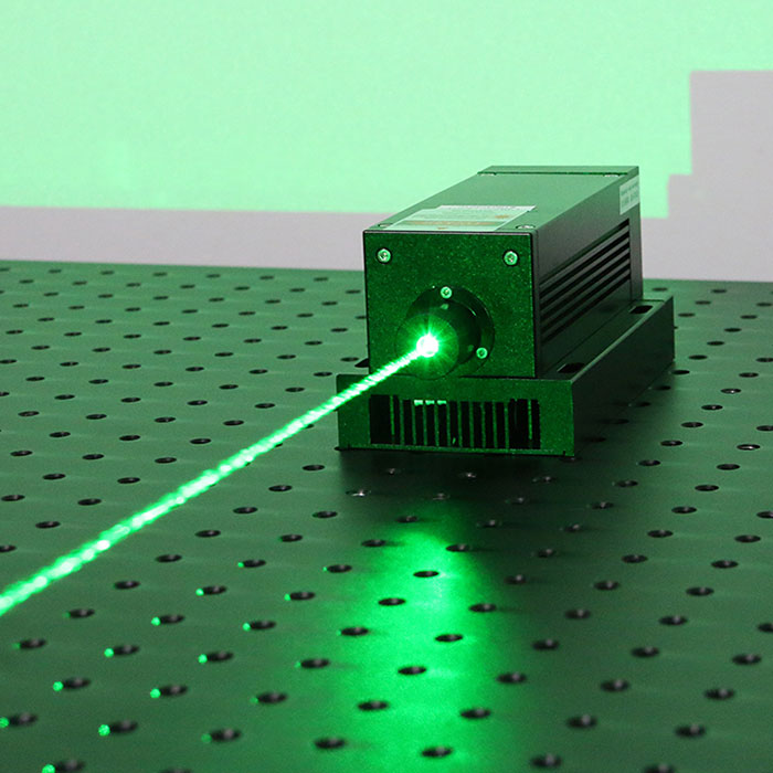 532nm Passively Q-Switched Laser Pulsed laser Adjustable Repetition Frequency