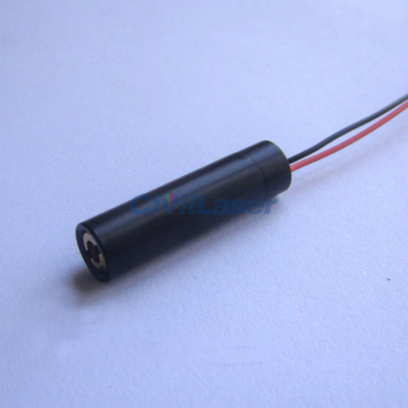 532nm 5mw~10mw Super small size Green laser module Dot Φ8mm