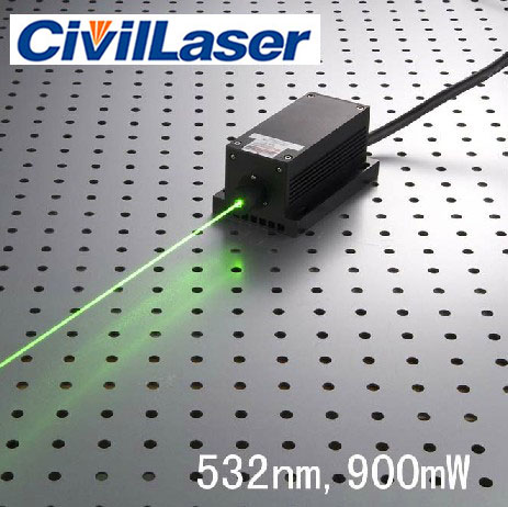 532nm 1000mw 1500mw green dpss with TTL modulation high power Pumped laser