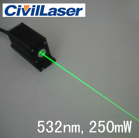 532nm 100mw~350mw green dpss laser green pumped laser Free shipping