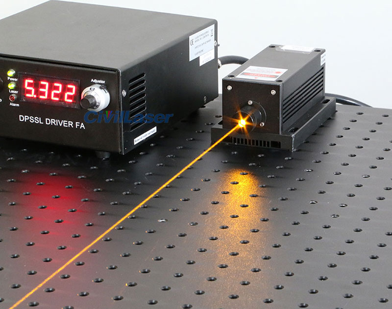 589nm laser yellow laser
