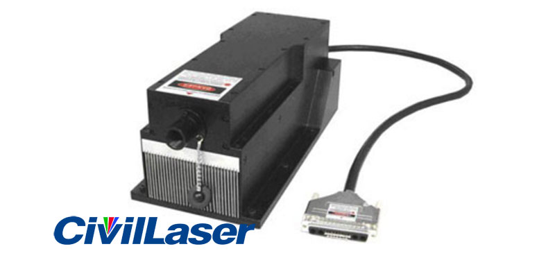 589nm 3500mw DPSS laser with TEM00 mode high power stability