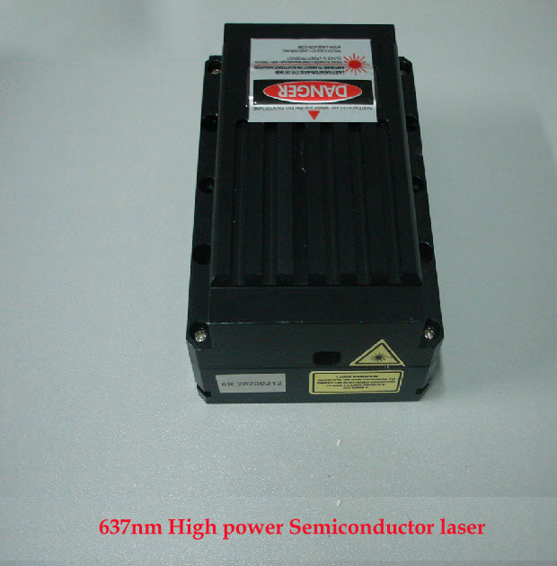 637nm 1000mw High power Red Semiconductor Laser