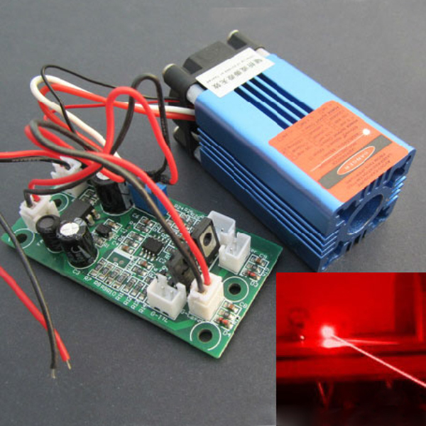 635nm/638nm 300mw~500mw Orange Red laser module Dot/TTL modulation/ Cheap