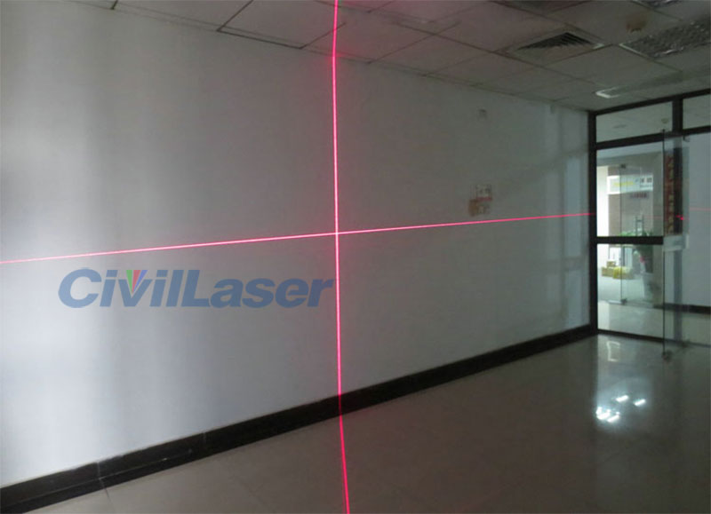 638nm 300mw Line/Crosshair High power Red laser module