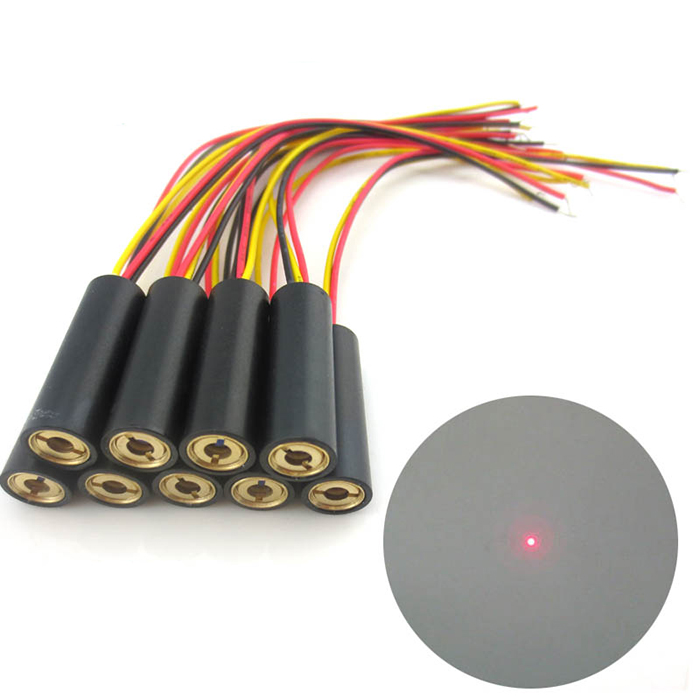 650nm 1mw-200mw Red Laser Module Dot Focusable With TTL Modulation Φ10mmx30mm