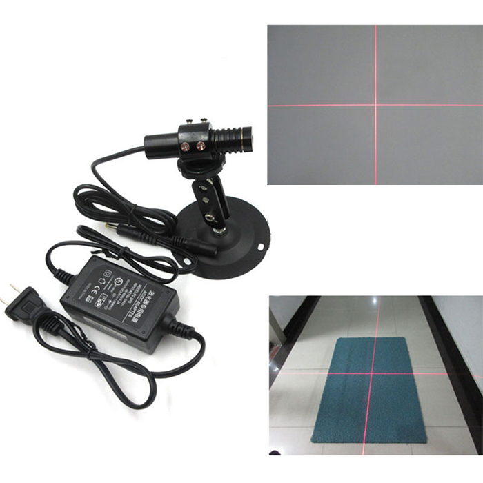 650nm 50mw Red Crosshair laser module Ultra-fine/Adjustable linewidth Vertical 90 degrees