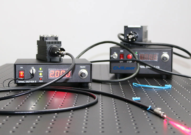 655nm/660nm 100mw~4000mW fiber coupled laser with power supply support Modulation