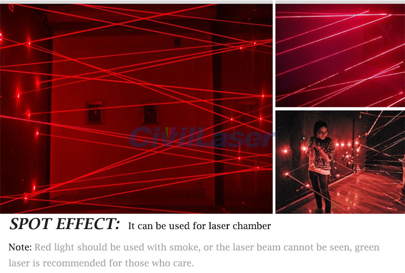 Red light 660nm250mW high power spot spot semiconductor laser