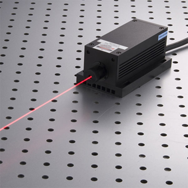 671nm 1200mW Red DPSS Laser High Power Diode Pumped Laser