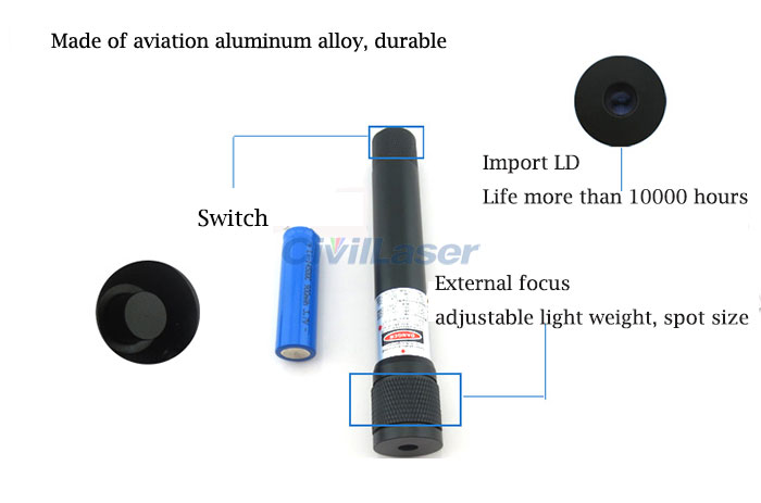 780nm 808nm 850nm 980nm Infrared Night Vision Light  Focus Adjustable Laser Module