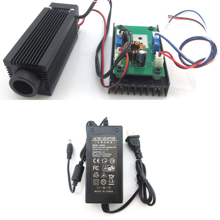 780nm 1w 2w Powerful IR Laser Module Dot With Cooling Fan