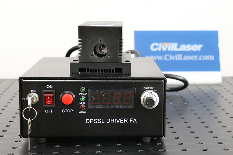1064nm 8W semiconductor laser diode CW & Modulation Infrared Laser system