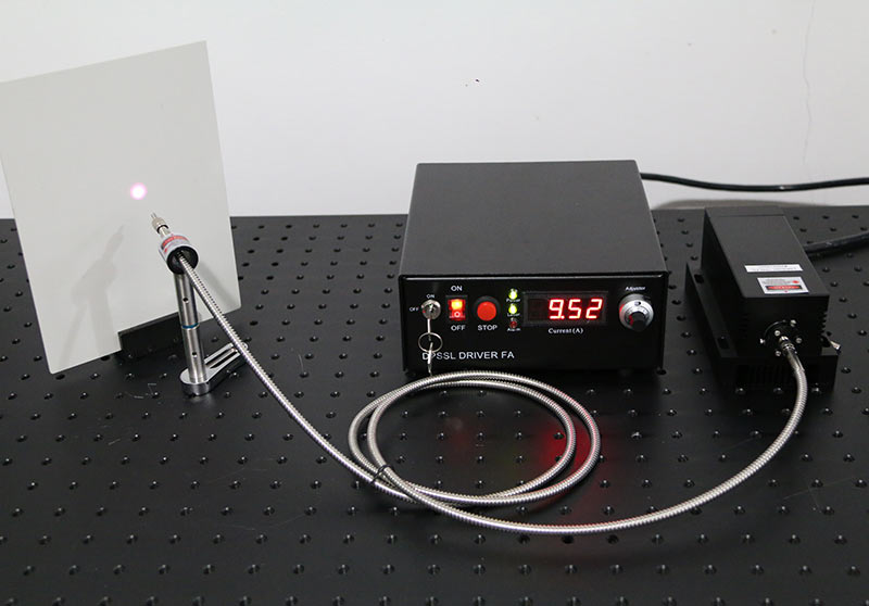808nm 8W~10W Fiber coupled laser with power supply