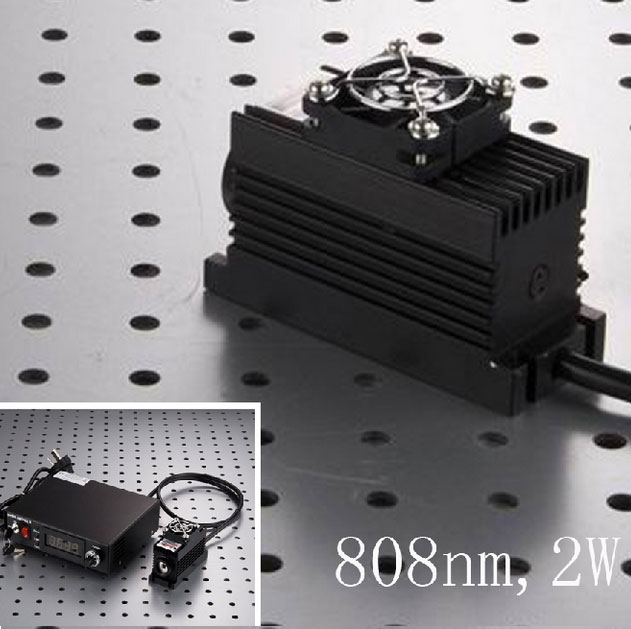 808nm 2W~4W High power IR Semiconductor Laser 0~30khz Analog or TTL