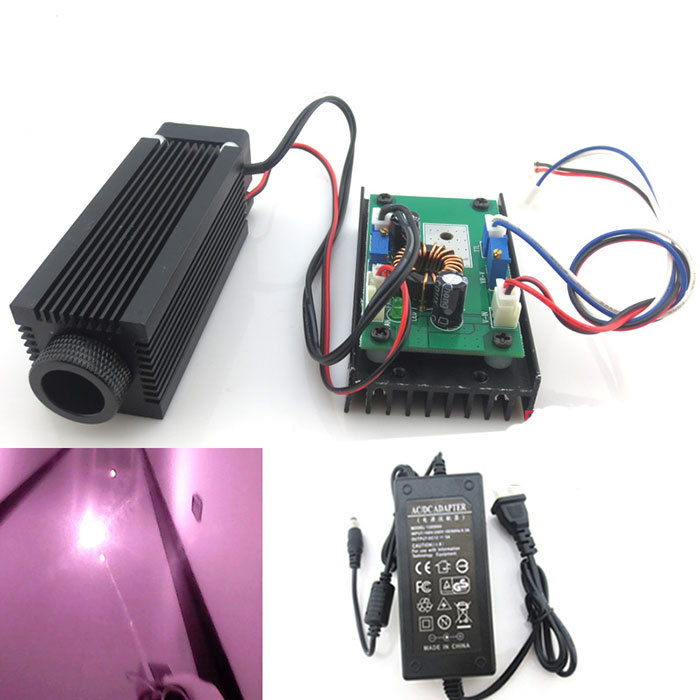 830nm 1w 2w Powerful Invisible Infrared Laser Diode Module Dot DC 12V With Cooling Fan