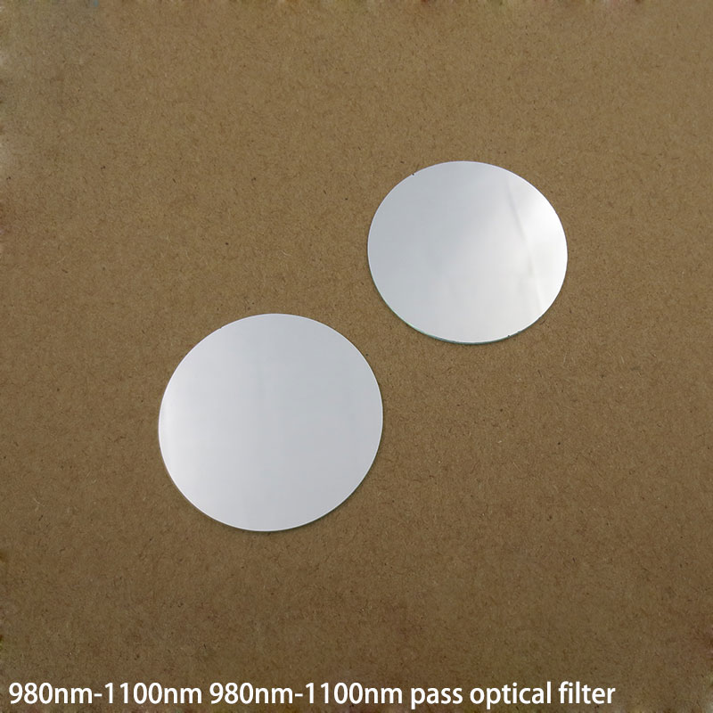 980nm-1100nm Pass Filter lens Coated lens Size can be customized