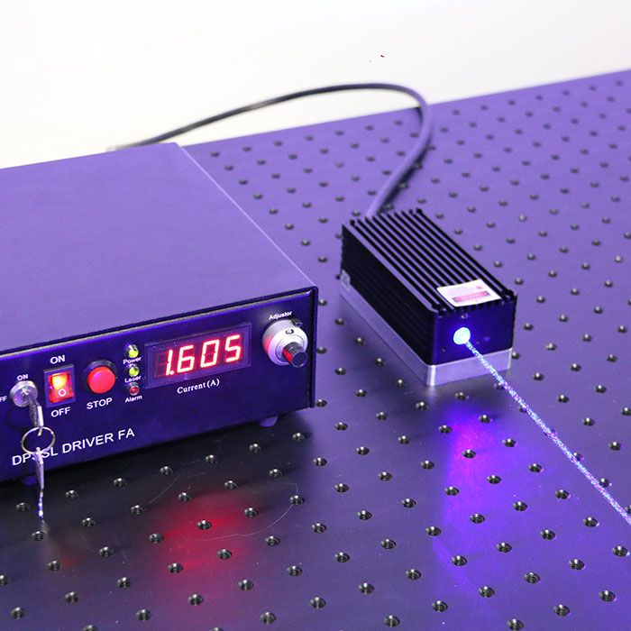 440nm 442nm 4W High Power Semiconductor Laser Blue Laser Beam