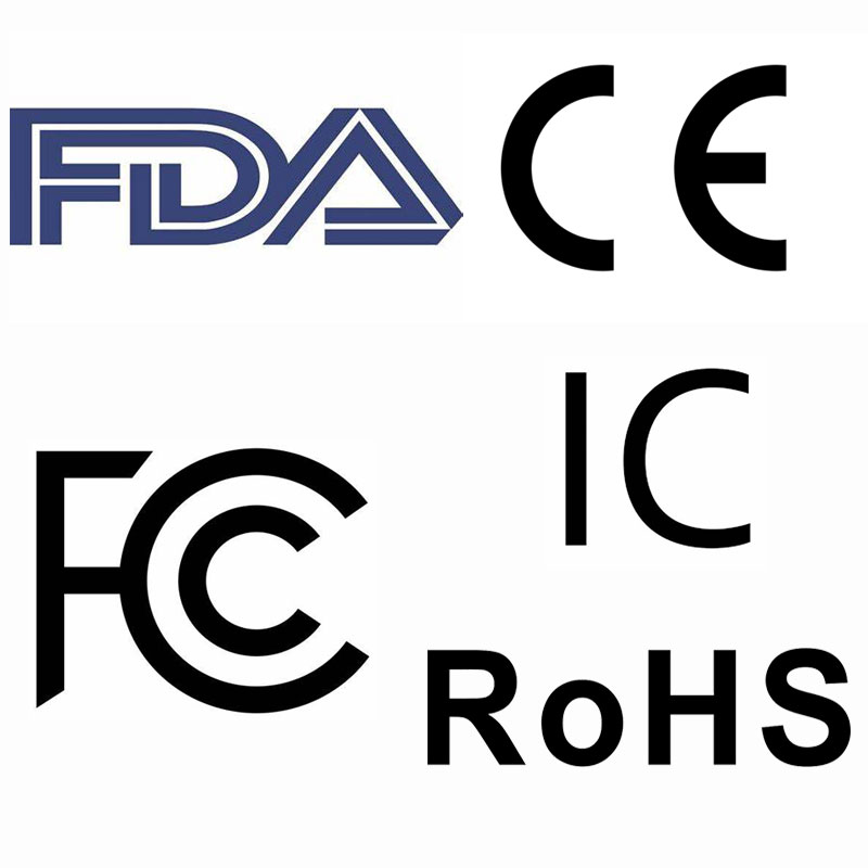 Certification Fee - 3C/FDA/FCC/IC/CE/coc/REACH/ROHS/