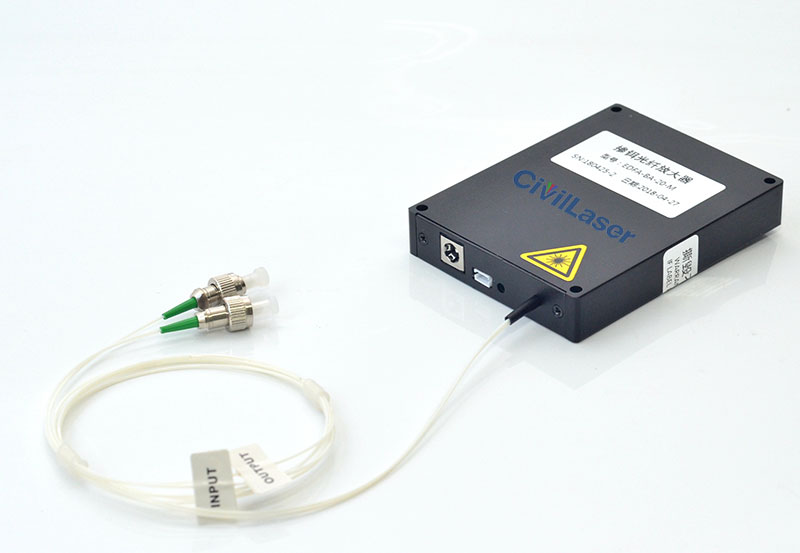 EDFA Erbium doped fiber amplifier 30mW~400mW Single wavelength Booster Amplifier module type