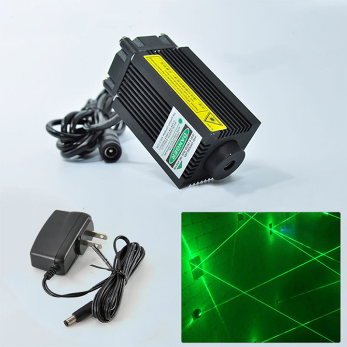 532nm 100mW Green Dot Laser module Room escape 12V