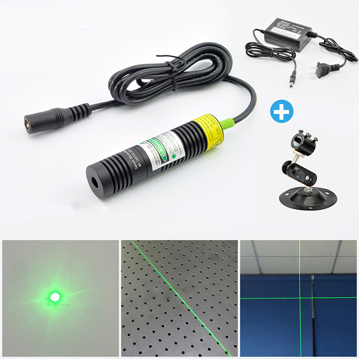 532nm 10mw~50mw Green laser module Crosshair/ Line/Dot
